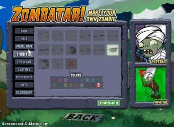 how to make a zombatar (bonus)