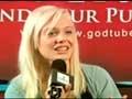 Krystal Meyers Visits GodTube!!