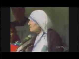 Mother Theresa - The Poor