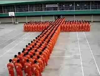 The Prison Yard Cross