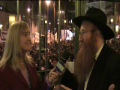 A Rabbi speaks about the Settlements.