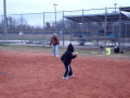 Raegan's Softball Tryouts