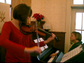 """""""We Three Kings"""" duet at OSLC Christmas Eve Service 2009"""