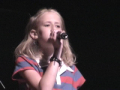 Anne Marie Singing at Centrifuge