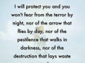 I will protect you - a word from Lord Jesus