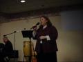 Cathy Dier ,Singing at Kingdom Community Church