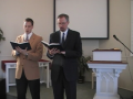 """Special Music: """"Jesus Shall Reign...."""" a hymn from the Trinity Hymnal"""