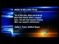Mayor Outlaws Police Chases
