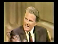 Woody Allen interviews Billy Graham
