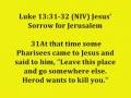 5. Matthew05 Lesson 5 Mat Chap 4:12-27 Jesus Begins His Ministry