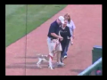 Dog Runs Loose at Minor League Game