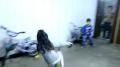 Little Girl Drifts Little Bike