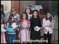 Children singing I want to follow Jesus