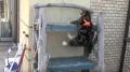 Rock-climbing Kitty