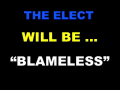 The Elect will be Blameless