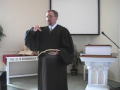 "Sermon: ""Big Man Talking!"" Part 2, May 16, 2010.  Rev. Richard Scott MacLaren, First Presbyterian Church Perka"