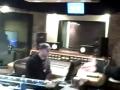 Aaron Shust in the studio