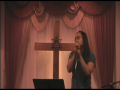 """Me singing """"The Words I Would Say"""" by Sidewalk Prophets"""