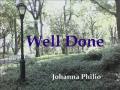 Well Done - Johanna Philio