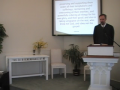 """Larger Catechism Q. #45: """"Jesus Is Our King!"""" First Presbyterian Church, Perkasie, PA Orthodox"""