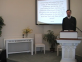 """Catechism: """"Jesus Is Our King,"""" #45; July 4, 2010, First Presbyterian Church Perkasie, Orthodox"""