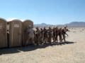 Army Secures Port-o-Potty