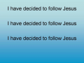 I Have Decided to Follow Jesus - Kids Church Music Songs