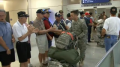 President George W Bush Greeting Troops in Dallas