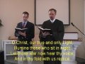 "Hymn: ""O Christ Our True and Only Light,"" Trinity Hymnal #296."