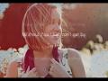Britt Nicole - Hanging On (Acoustic Slideshow With Lyrics)