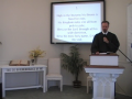 Sunday Worship Service, August 29, 2010.  First Presbyterian Church, Perkasie, PA.