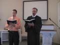 """Hymn: """"How Glorious Zion's Courts Appear,"""" Trinity Hymnal #277. First Presbyterian Church"""
