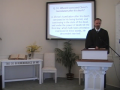 """Catechism: """"Humiliated in His Burial,"""" Larger Catechism Q. #50. First Presbyterian Church, Perkasie, Pa"""