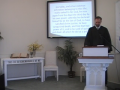 """Catechism: """"Exalted in His Resurrection,"""" Questions #51-52. First Presbyterian Church, Perkasie."""