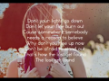 Britt Nicole - The Lost Get Found (Acoustic Slideshow with Lyrics)