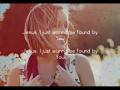 Britt Nicole - Found By You (Acoustic Slideshow with Lyrics)