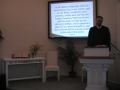 """Catechism: """"Jesus Exalted in His Ascension,"""" First Presbyterian Church, Perkasie."""