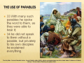 Bible Study - Mk. 4:33-34 The Use of Parables