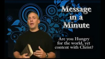 Content with Christ - Message in a Minute