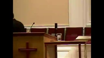 """Community Bible Baptist Church 10-4-2010 Mon PM Bible Conference """"Who Threw Jonah into the Sea?"""" 1of4"""