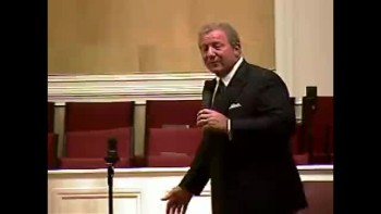 """Community Bible Baptist Church 10-4-2010 Mon PM Bible Conference """"Who Threw Jonah into the Sea?"""" 3of4"""