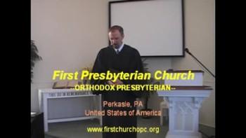 """Sermon: """"Lessons from the Falling Rain,"""" Part 2. First Presbyterian Church Perkasie"""