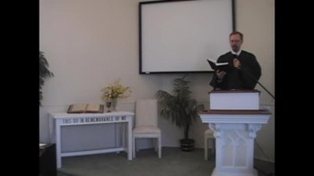 Sunday Worship Service, 10/10/2010. First Presbyterian Church Perkasie