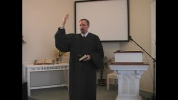 """Sermon: """"From Cradle to Grave,"""" Pt. 2; 10/17/2010. First Presbyterian Church Perkasie OPC"""