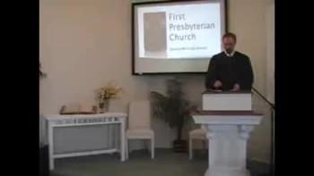 Sunday Worship Svc, 10/17/2010. First Presbyterian Church, Perkasie OPC