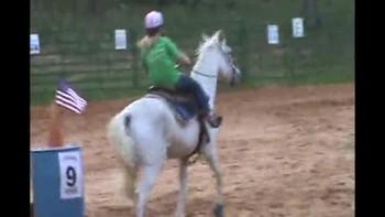 Sailor riding her bestest horse