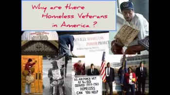 WHY ARE THERE HOMELESS VETERANS? ~ www.RichardAberdeen.com