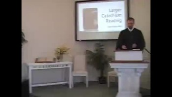"Catechism: ""The Lost Are Really Lost!"" First Presbyterian Church, Perkasie, PA Rev. Richard Scott MacLaren"