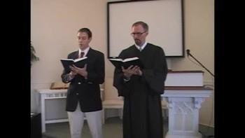 "Hymn: ""I Need Thee Every Hour,"" First Presbyterian Church, Perkasie, PA Rev. Richard Scott MacLaren"