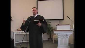 Sermon: No Teleprompter Here! Pt. 2. First Presbyterian Church, Perkasie. Orthodox. OPC. Richard Scott MacLaren